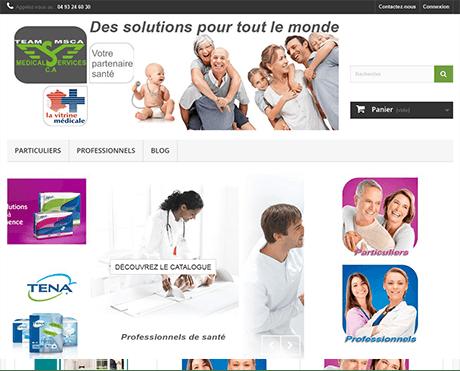 Médical Service Côte d'Azur – Boutique en ligne